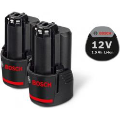 Аккумулятор Bosch Li-Ion 2 x 12 В 1,5 Ач.